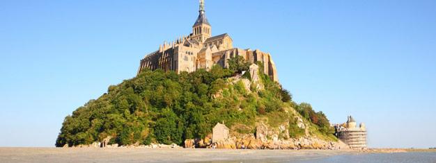Nyt en to-dagers reise fra Paris til Normandie, Saint Malo og Mont Saint Michel. Inkluderer et opphold på et 3-stjerners hotell med frokost og middag. Bestill nå!