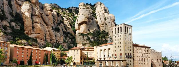 En heldagstur i två delar: Montserrat på morgonen och Barcelona på eftermiddagen. Se kyrkan i Montserrat och Sagrada Familia. Köp biljetten här!