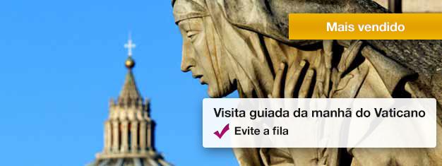 Visite os Museus do Vaticano, admire a beleza inigualável da Capela Sistina e explore a Basílica de São Pedro. Reserve com antecedência seus ingressos para este passeio guiado!