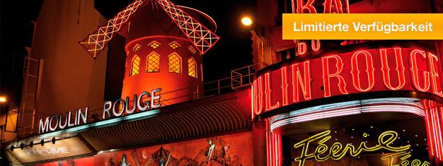 LeBalDuMoulin Rouge ist das weltberühmte Cabaret Varieté in Paris. Féerie ist die aktuelle Show im Moulin Rouge und Tickets für Féerie in Paris können Sie hier kaufen!