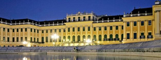 """Wienin Schönbrunnin palatsin""""Rendezvous with Mozart"""" -paketti sis. vierailun palatsiin, illallisen ja klassisen musiikin konsertin. Varaa lippusi täältä!"""