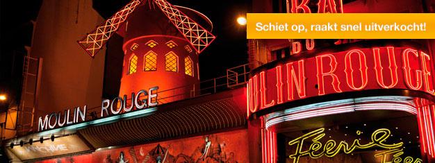 Bal du Moulin Rouge is een wereldberoemd cabaret in Parijs. Féerie is de huidige show in de Moulin Rouge. Boek tickets hier en mis de show niet!