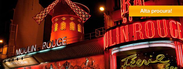 Bal du Moulin Rouge é o cabaret mais famoso de Paris, conhecido em todo o mundo. Reserve aqui os bilhetes para o espetáculo Féerie, em cartaz no Moulin Rouge!