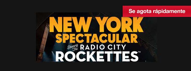 El New York Spectacular conThe Radio City Rockettes celebra NY en verano. Reserva tus entradas al New York Spectacular hoy!