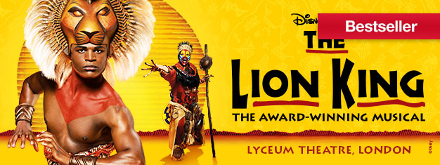 The Lion King in London is de meeste verbazingwekkende Disney familie musical met muziek van Elton John. Koop theater tickets voor the Lion King in London hier!