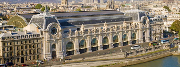 Enjoy a guided tour of the Orsay museum in Paris! See the largest collection of Impressionist and post-impressionist paintings worldwide. Book online!