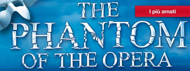 Goditi il capolavoro di Andrew Lloyd Webber, IlFantasma dell'Opera a New York! Vincitore di più di 50 premi, incluso il Tony Award come Miglior Musical. Prenota online!