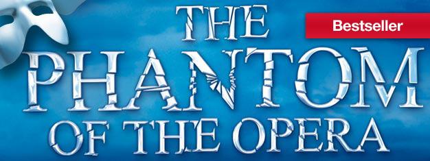 Ervaar Andrew Lloyd Webbers meesterwerk Phantom of the Opera in New York! Winnaar van meerdere Awards waaronder een Tony voor Best Musical. Boek online!