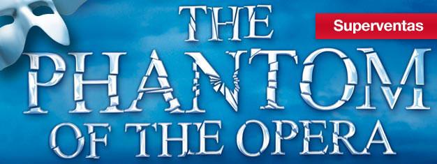 Ve la obra maestra de Andrew Lloy Webber,Fantasma de la Opera en Nueva York! Más de 50 premios ganados, incl. Premio Tony a Mejor Musical.Reserva en línea!