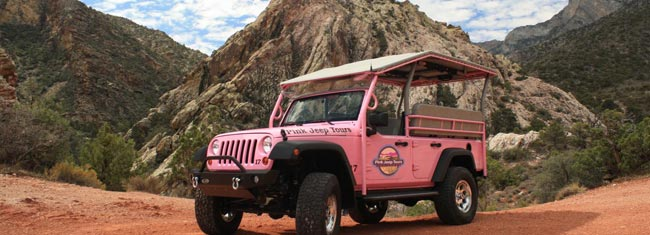 Experience Red Rock Canyon from an open-air jeep. Amazing views and adventure guaranteed. Book your tour today and get ready for a tour like no other!