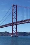 Cruzeiro no rio em Lisboa