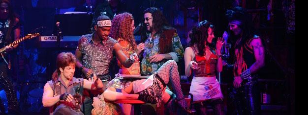 Erleben Sie Rock of Ages, ein absolut fantastisches Rock Musical Erlebnis mit 80 der weltweit erfolgreichsten Rocksongs. Tickets für diese einmalige Show in Las Vegas sind hier erhätlich!