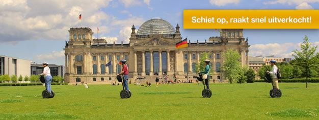 Verken Berlijn tijdens deze 3-uur durende Segway tour! Kom meer te weten over Berlijn terwijl u rijdt door deze historische stad! Boek online!