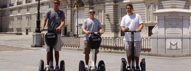 Madrid from a Segway must be the most fun way to do a sightseeing tour. Book your tickets for Madrid Sightseeing Tour here!