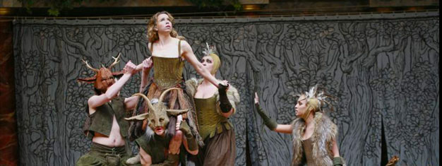 Enjoy Shakespeares A Midsummer Night's Dream on Globe Theatre in London. Book your tickets for A Midsummer Night's Dream on Globe Theatre in London here!