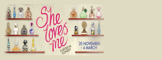 Book your tickets to the musical love story She Loves Me in London's West End! The story that inspired You've Got Mail. Choose your own seats!