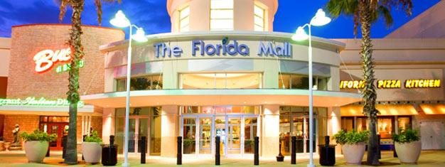 Besøk tre av de beste kjøpesentrene i Orlando -Orlando Premium Outlets, Florida Mall og Mall at Millenia. Inkl. hotelltransfer. Bestill din tur her!