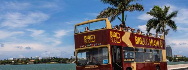 Enjoy a one day trip to Miami and explore the lively city with the iconic Hop-On Hop-Off buses! The tour includes  transfer from Orlando. Book online!