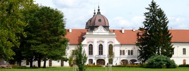 Bli med på tur til verdens nest største barokkpalass - Dronning Elisabeth, kjent som Sisi, sitt tidligere sommerresidens iGödöllő. Bestill her!