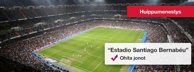 Bernabéu, Real Madridin stadion on todella vaikuttava, sillä sinne mahtuu yli 80 000 fania. Voit varata lippusi Bernabéun kierrokselle täältä!