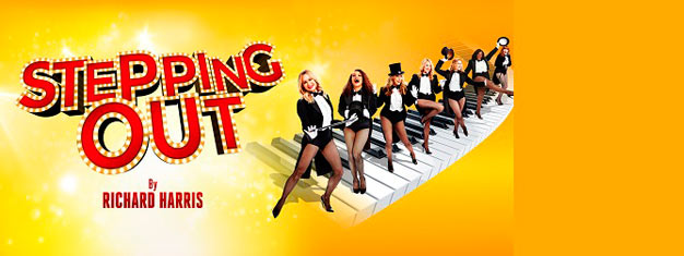 Stepping Out is awonderfully funny and heart-warming comedy which charts the lives of seven women and one man attempting to tap their troubles away at a weekly dancing class