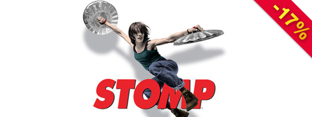 """Osta liput Stompiin New Yorkissa etukäteen! Tämä show täytyy nähdä! Show on voittanut Drama Desk Awardin """"kaikkein omalaatuisimmasta teatteriesityksestä""""! Varaa liput netistä!"""