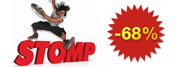 Osta liput Stompiin Lontooseen! Stomp on ainutlaatuinen show, jossa musiikkia tehdään jokapäiväisten tavaroiden avulla.