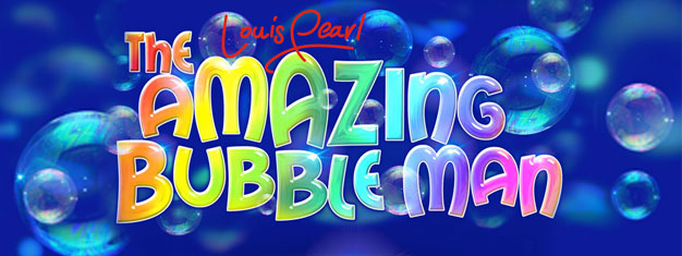 Louis Pearl, The Amazing Bubble Man comes to London's West End, direct from Edinburgh's Fringe Festival. Book tickets for Louis Pearl, The Amazing Bubble Man in London here!