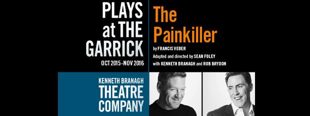 To mænd. To hotelværelser. En af dem af en morder. En af dem vil gerne dø. Hvad kan overhovedet gå galt? Bestil billetter til The Painkiller i London!