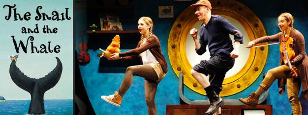 Biljett till The Snail and the Whale i London! En sagostund med levande musik och skratt i ett! En show för hela familjen, från 4 år. Boka dina biljetter här!