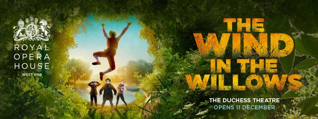 The Wind in the Willows in London is based on Kenneth Grahame's book is a fusion of dance, music and puppetry. Book tickets for The Wind in the Willows in London here!