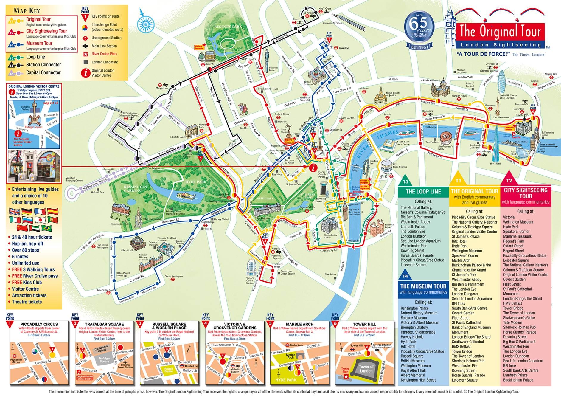 Belfast Walking Tour Map
