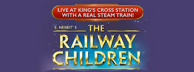 The Railway Children spelas på Waterloo Station Theatre i London. Den stora succén från York har kommit till London. Köp dina biljetter här!