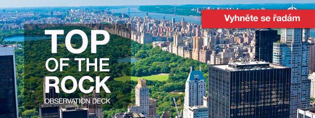 Vstupenky na Top of the Rock pozorovací paluby v Rockefeller Center v New Yorku, si můžete objednat zde! Top of the Rock v New Yorku se musí vidět!