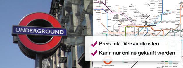 Kaufen Sie Ihre Travelcard für Londons U-Bahn und die roten Doppeldecker hier! Ihre Travelcard Fahrkarten werden per Post an Sie gesendet, noch bevor Sie Richtung London reisen! Einfach und bequem!