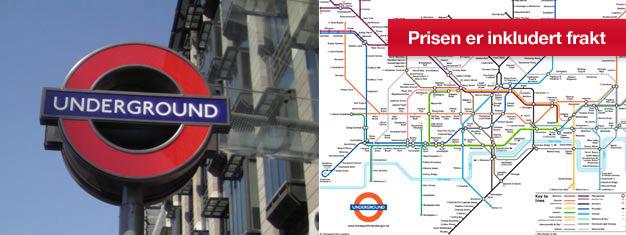 """Bestill dine travelcards for London metro """"The Tube"""" samt Londons røde busser, og få dem sendt direkte hjem til deg før du reiser til London"""
