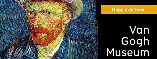 Van Gogh-museet i Amsterdam inneholder den største samlingen av malerier av Vincent van Gogh i verden. Bestill billetter til Van Gogh-museet i Amsterdam her!