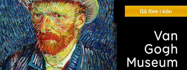 Biljetter Van Gogh-museet i Amsterdam! Van Gogh Museum har den största samlingen målningar av Vincent Van Gogh i världen. Boka biljett till Van Gogh-museet här!