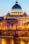 Vatikaanin iltaretki + illallinen