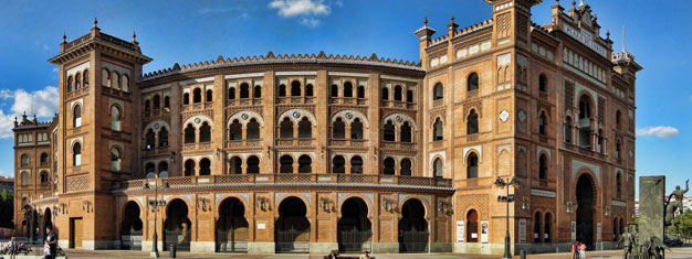 Join our Sightseeing tour of Madrid and visit bullfighting at Las Ventas Madrids famous bullring. Tickets for Sighseeing and bullfighting in Madrid here!