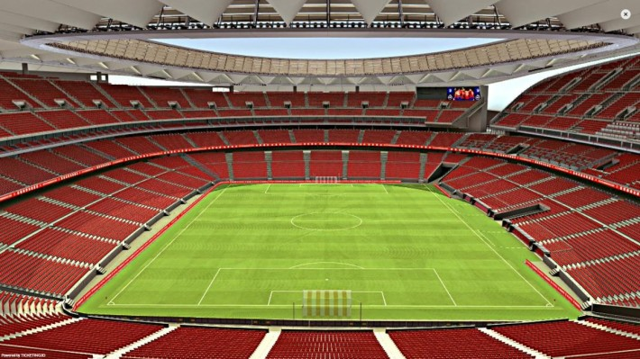 Arenainfo Estadio Wanda Metropolitano. MadridFootballInternational.co.uk