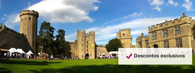 Reserve ingressos para o Castelo de Warwick, nos arredores de Londres, e testemunhe pessoalmente quase 1.000 de inigualáveis episódios históricos. Reserve seu ingresso para o Castelo de Warwick aqui!
