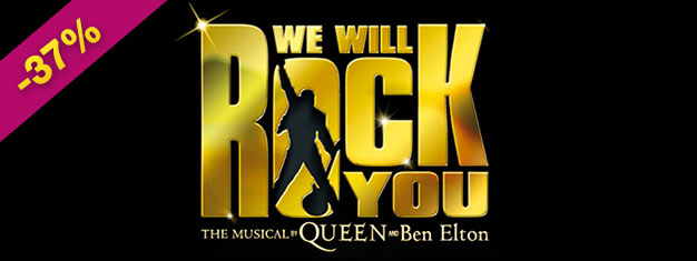 Don't miss your chance to experience We Will Rock You in London before it's too late! The popular musical closes after 12 years, so buy your tickets now!