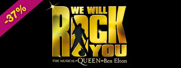 Gå ikke glip af chancen for at opleve We Will Rock You i London før det er for sent! Den populære musical lukker efter 12 år, så køb dine billetter nu!