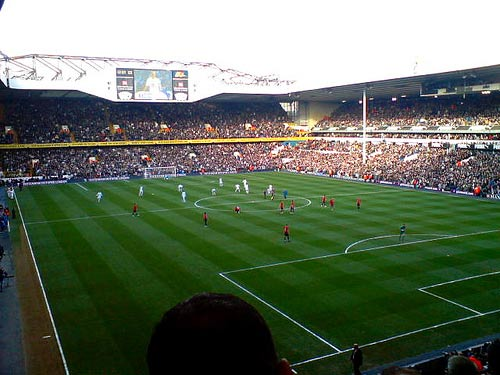 White Hart Lane. LondonFussball.de