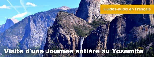 Dans la Visite d'une Journée Entière au Yosemite, vous pourrez découvrir le magnifique Parc National du Yosemite et les Gigantesques et Majestueux Arbres Sequoias. Réservez votre visite ici!