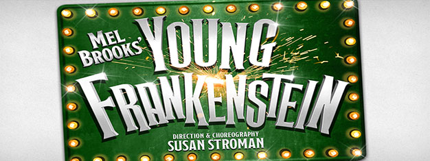 Secure tickets today to Young Frankenstein, the classic monster musical comedy hit by Mel Brooks with direction and choreography by Susan Stroman, live in London's West End.